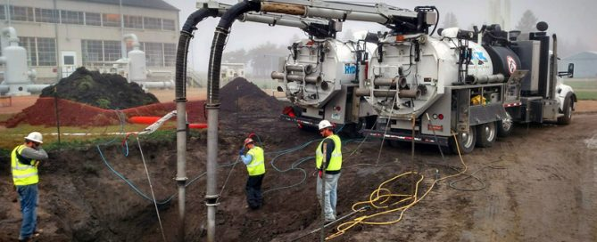Advanced Line Systems hydrovac excavation